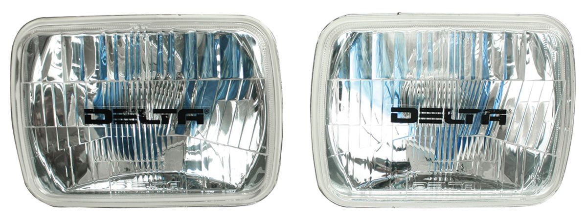 Headlamp, 1978-81 Chevorlet, Rectangular, Delta, H4 Xenon
