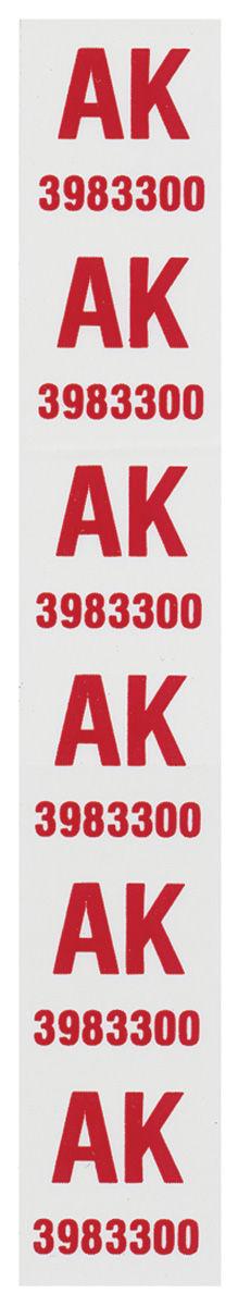 Tag, Front Coil Spring, 1972 Monte Carlo 454, AK