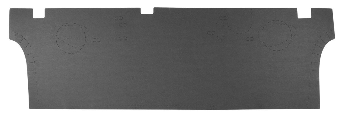 Trunk Divider Board, 1968-72 A-Body Coupe