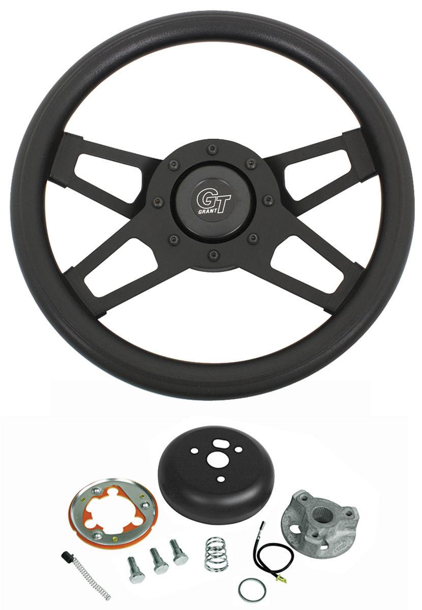 Steering Wheel Kit, Challenger, 1969-88, Black