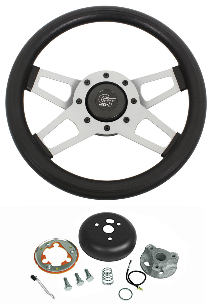 Steering Wheel Kit, Challenger, 1969-88, Satin