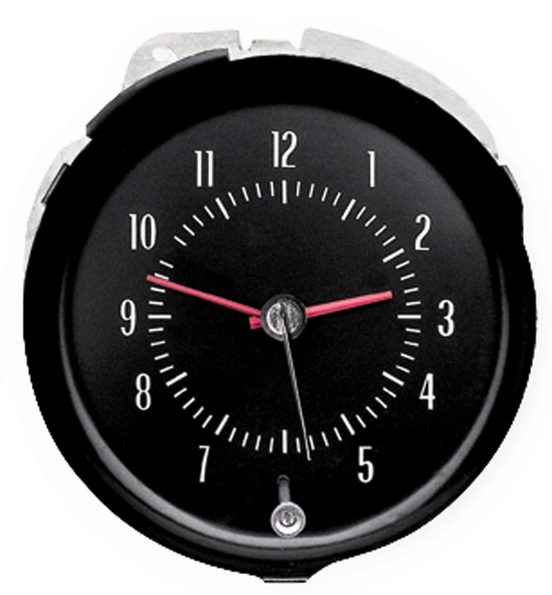 Gauge, Clock, 1971-72 CH/EC/MC, In Dash