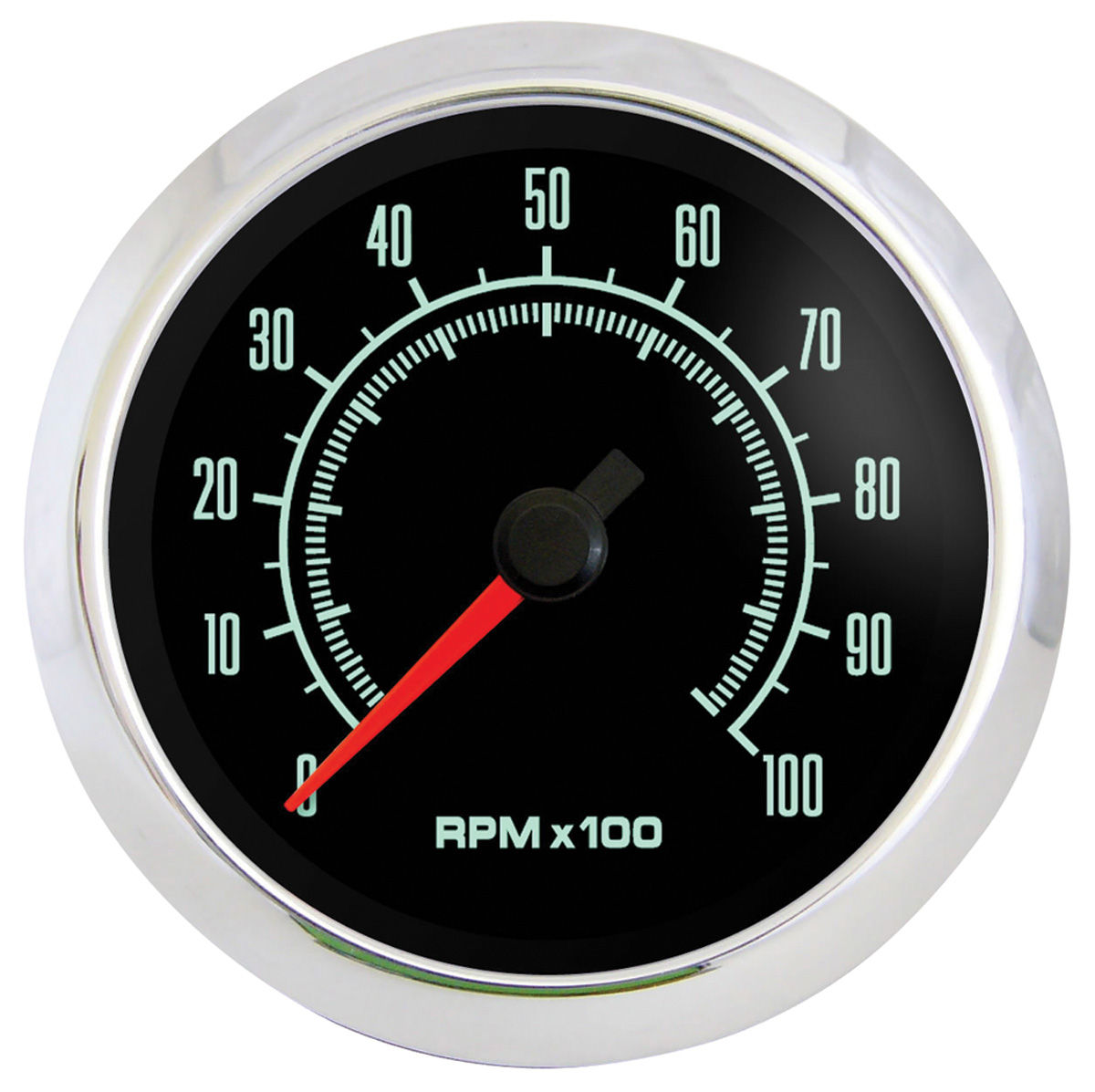 Gauge, Tachometer 10,000 RPM, Marshall Instruments, Retro Muscle