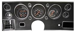 Gauge Conversion Kit, 1970-72 CH/EC/MC, Velocity, Black