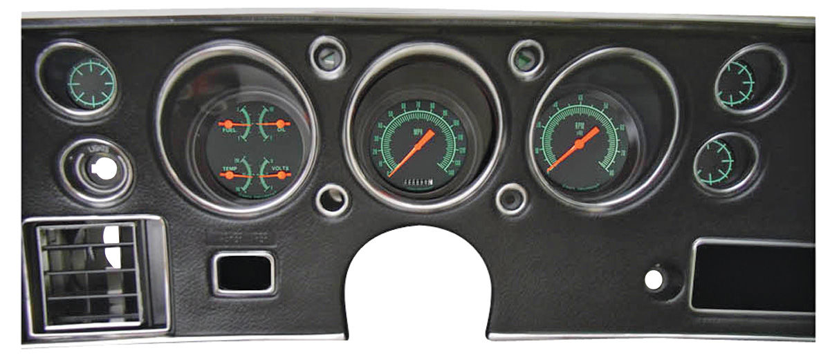 Gauge Conversion Kit, 1970-72 CH/EC/MC, G-Stock