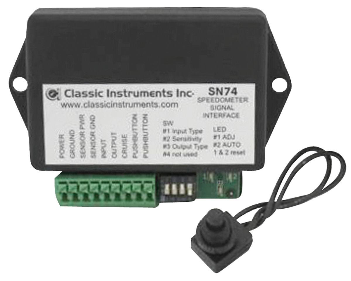 Speedometer Signal Interface, 1970-72 CH/EC/MC, Classic Instruments