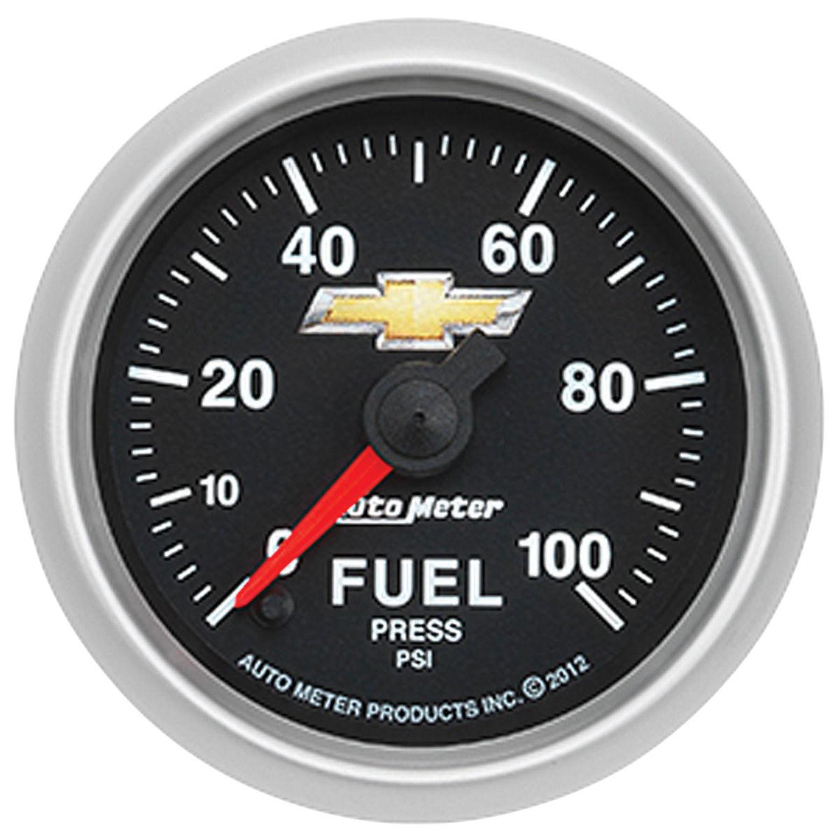 Gauge, Fuel Pressure, Auto Meter, Bowtie, 2-1/16