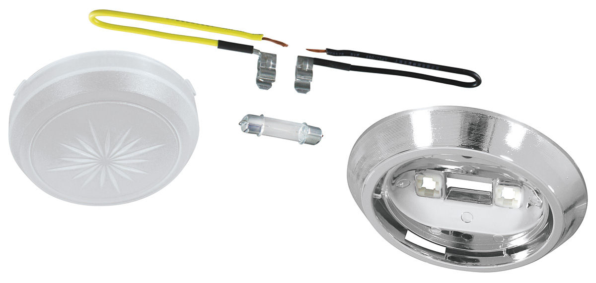Dome Light Kit, 1969-77 Buick/Olds/Pont, 1971-88 Chevrolet