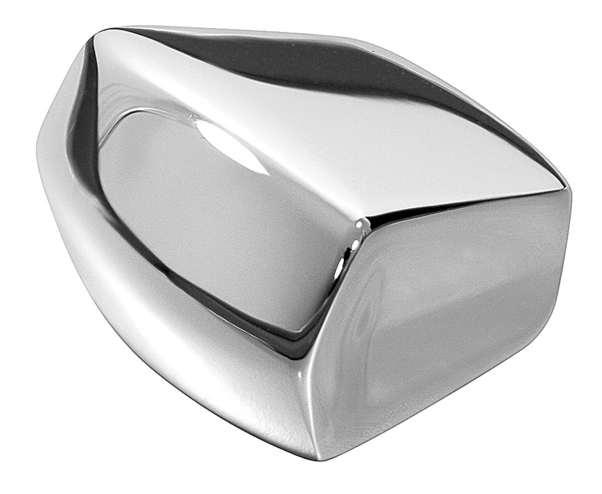 Knob, Seat Track, 1967-72 GM A Body, Chrome