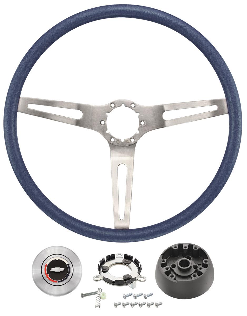 Steering Wheel Kit, 1969-72 CH/EC, 3-Spoke Comfort Grip