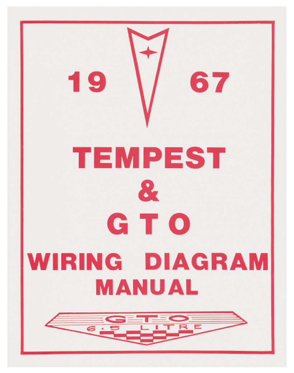 Wiring Diagram Manual, 1967 Pontiac A-Body @ OPGI.comOriginal Parts Group