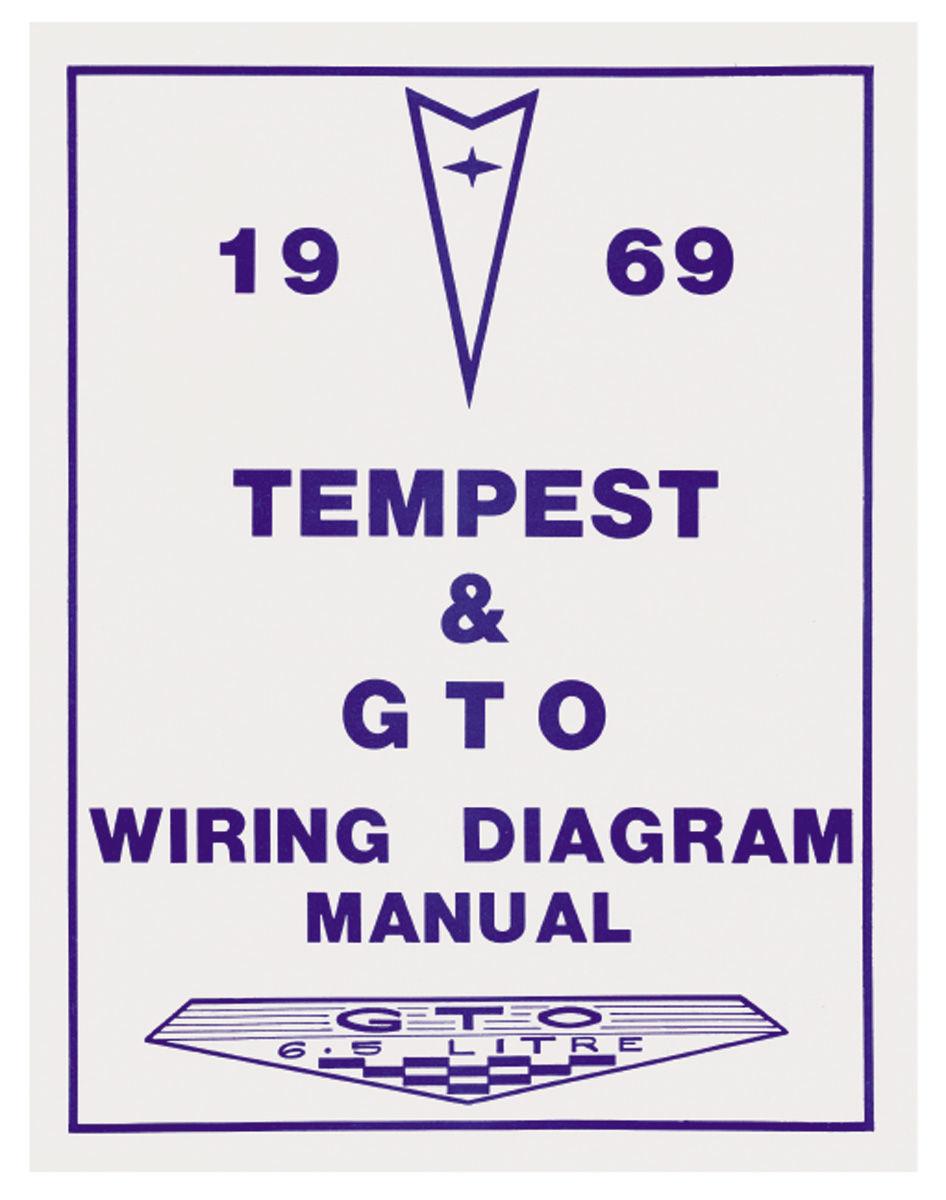 Wiring Diagram Manual  1969 Pontaic Gto  Lemans