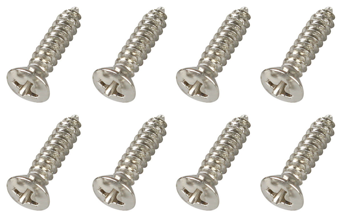 Screw, 63-88 GM, Door Step Plate, 8pc Kit