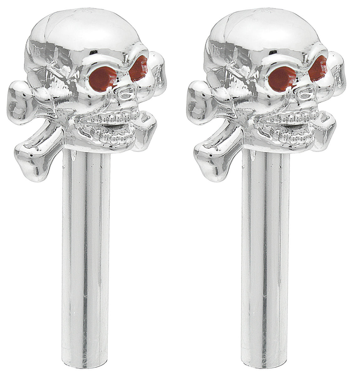 Knobs Door Lock Skull X Bone