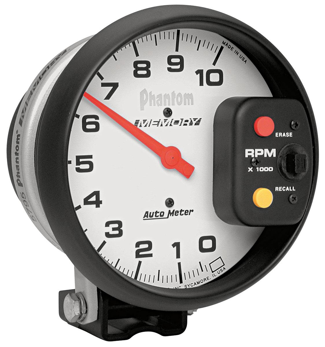 Gauge, Tachometer, Auto Meter, Phantom, 5