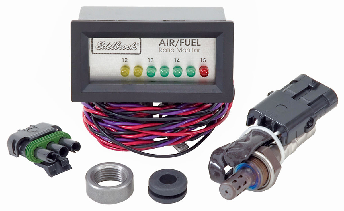 Monitor, Air/Fuel Ratio, Edelbrock