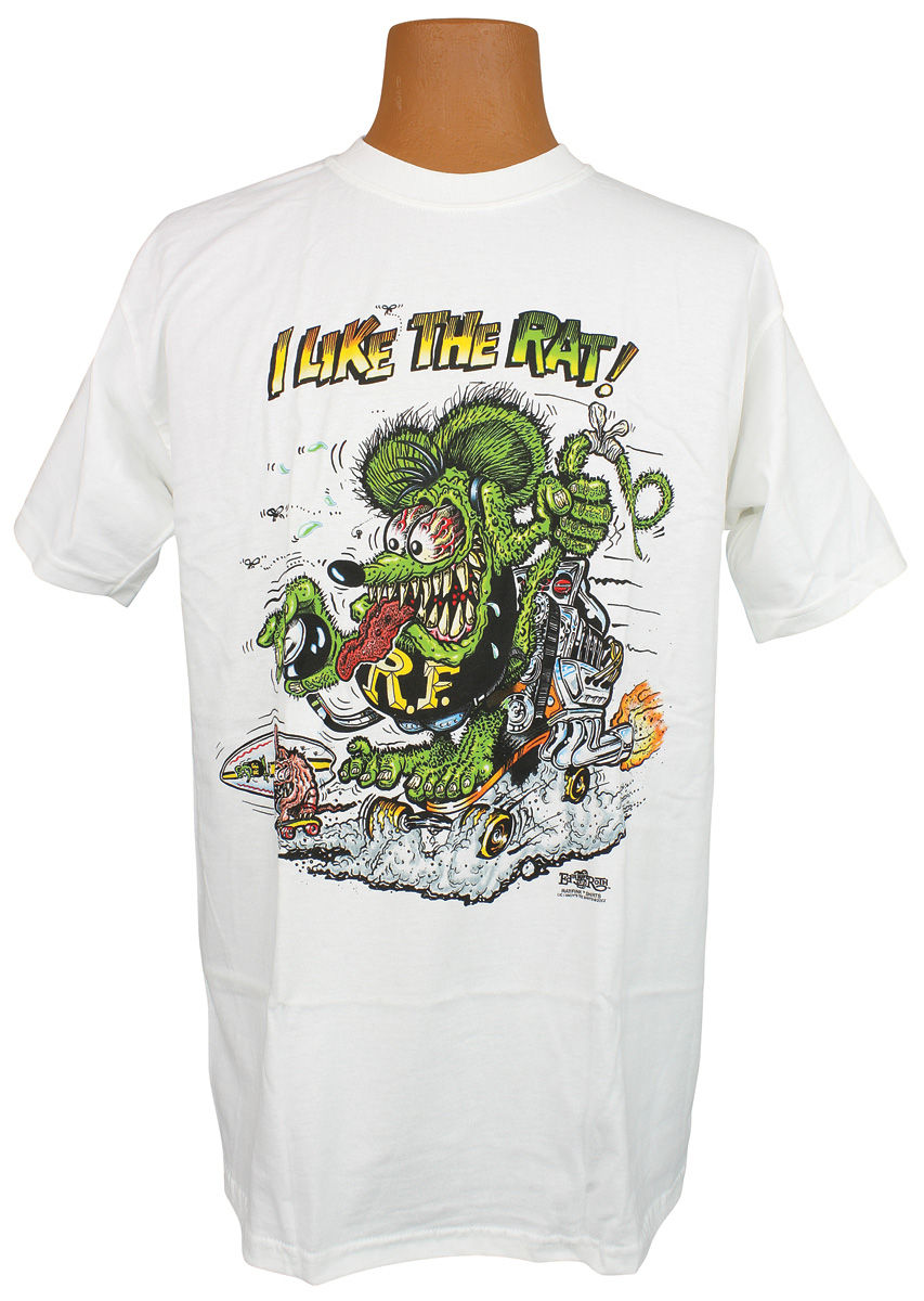 Shirt, Rat Fink,