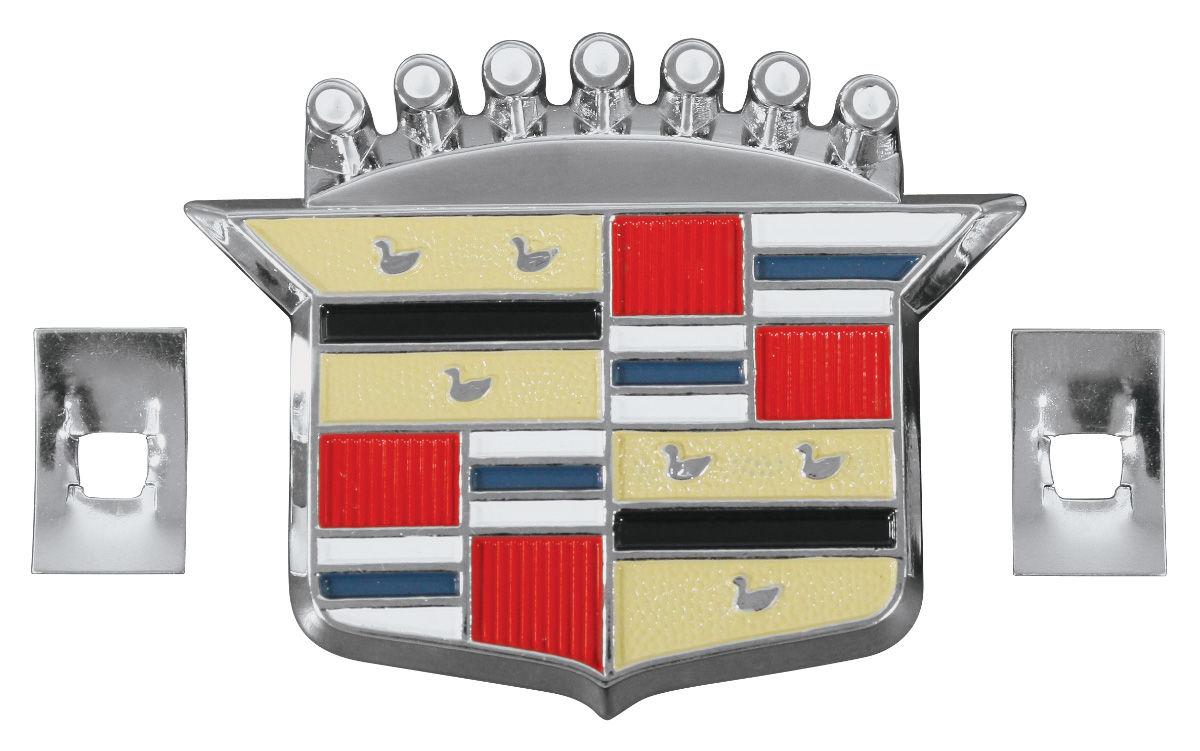 Emblem, 63-80 Cadillac, Hub Cap Crest
