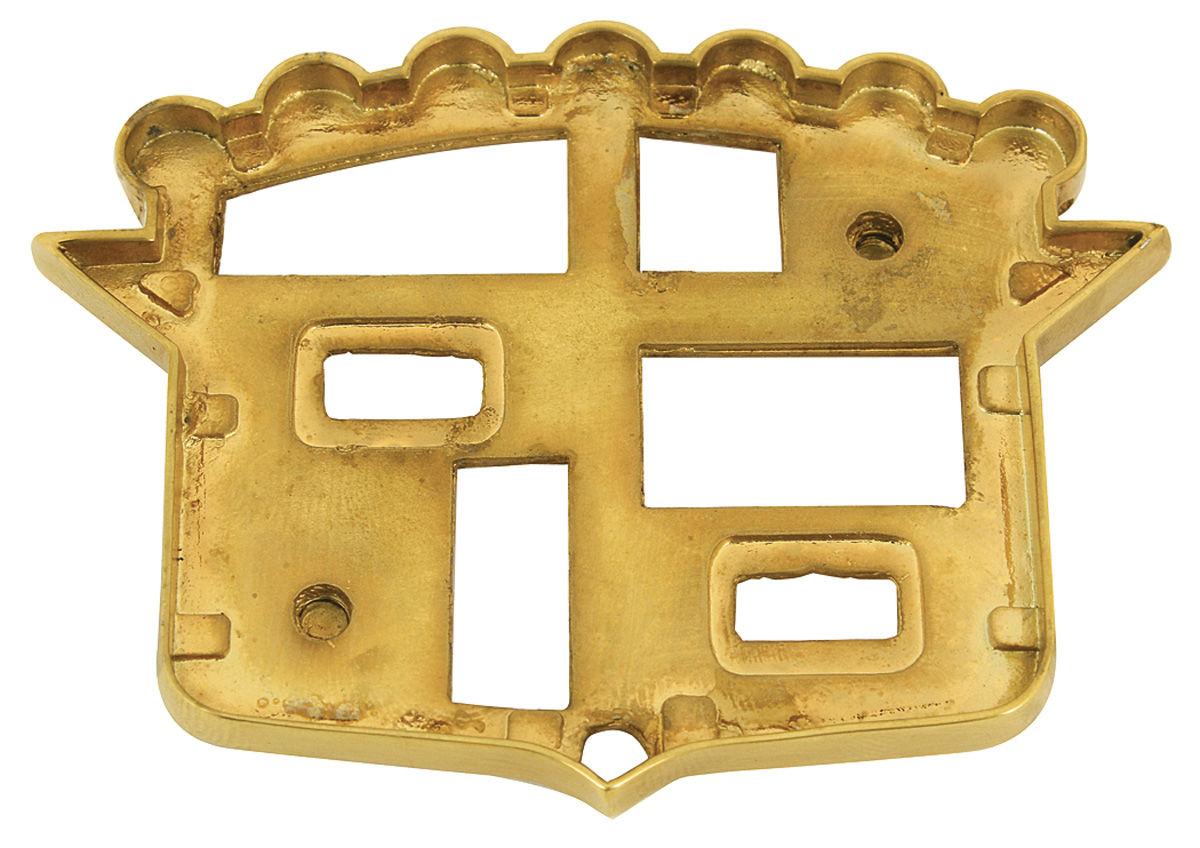 Bezel, Trunk Crest, 1955 Cadillac