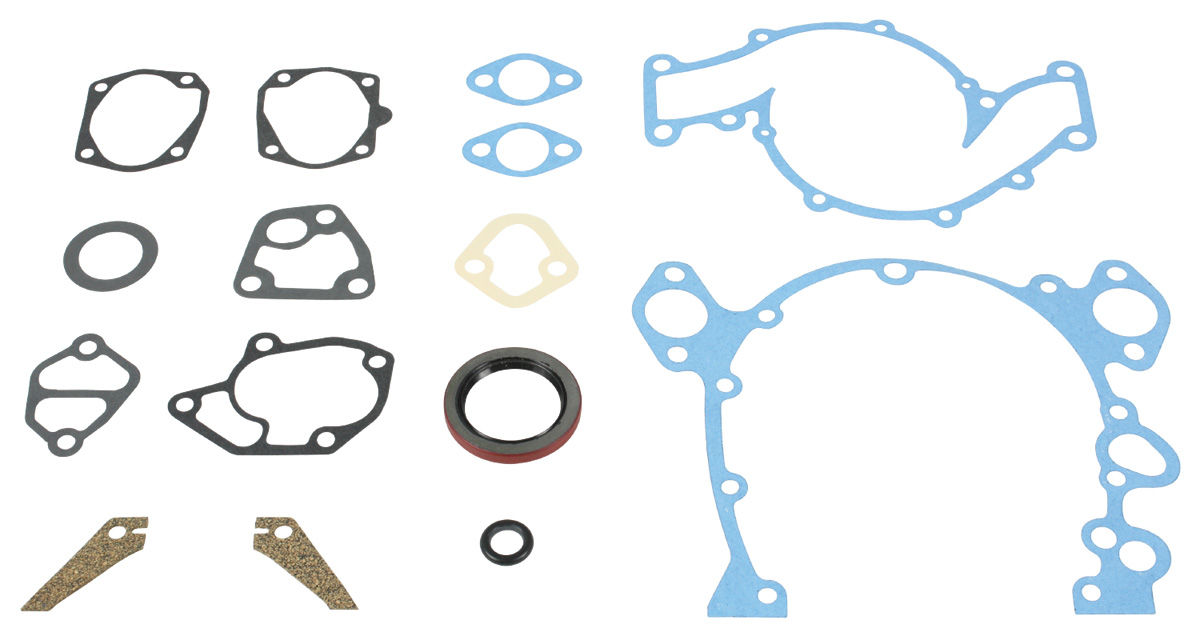 Gasket, Timing Chain Cover, 1963-67 Cadillac 390/429