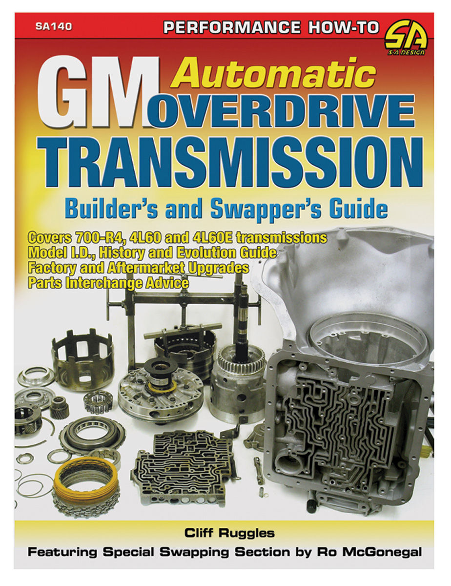 Book, GM Automatic Overdrive Transmission Builder's and Swapper's Guide