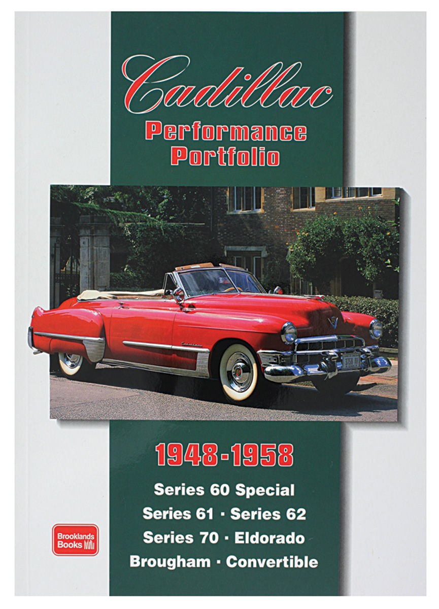 Book, Cadillac Performance Portfolio 1948-1958