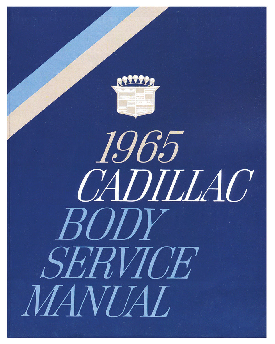 Manual, Fisher Body, 1965 Cadillac