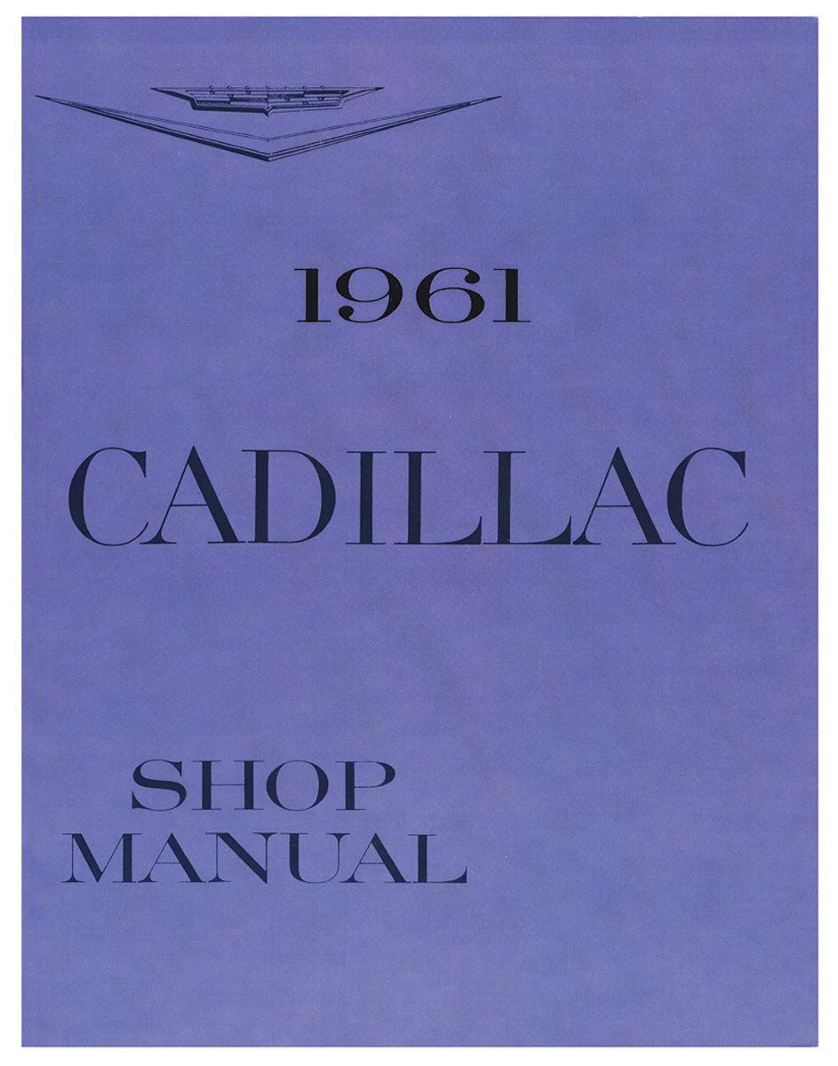 Shop Manual, 1961 Cadillac