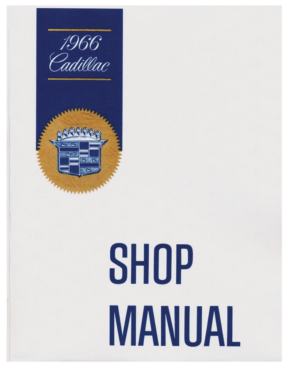 Chassis Manual, 1966 Cadillac