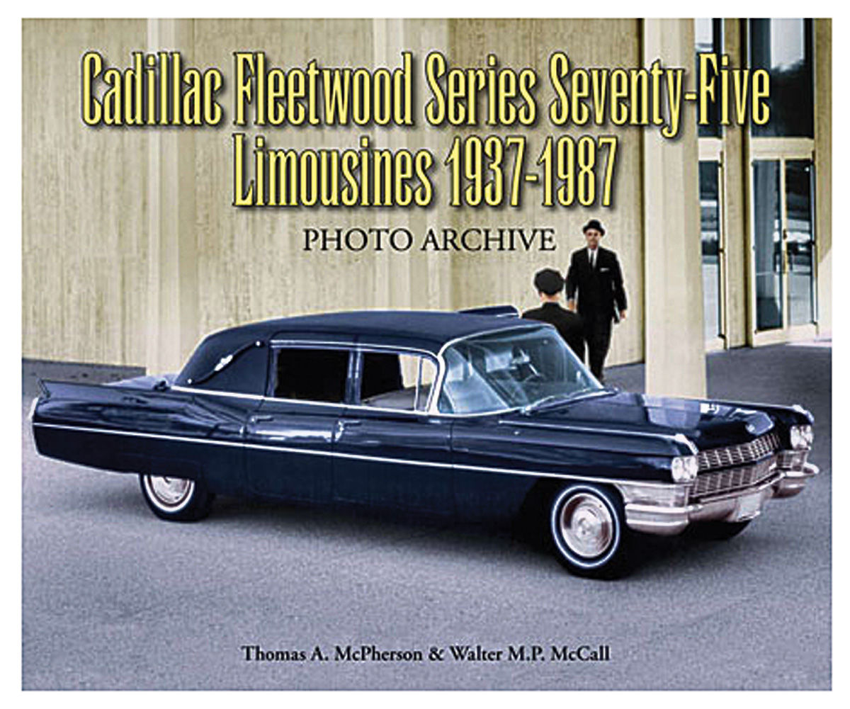 Book, Cadillac Fleetwood Series 75 Limousines 1937-1987
