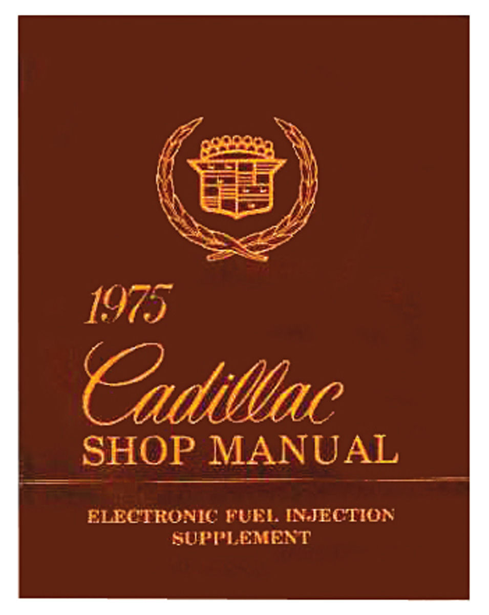 Manual, Electronic Fuel Injection, 1975 Cadillac