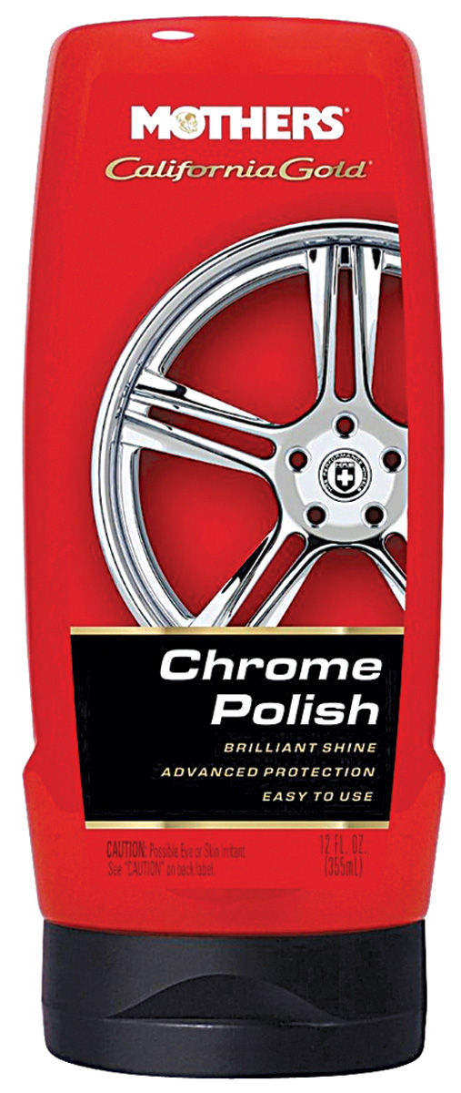 Chrome Polish, Mothers California Gold, 12OZ
