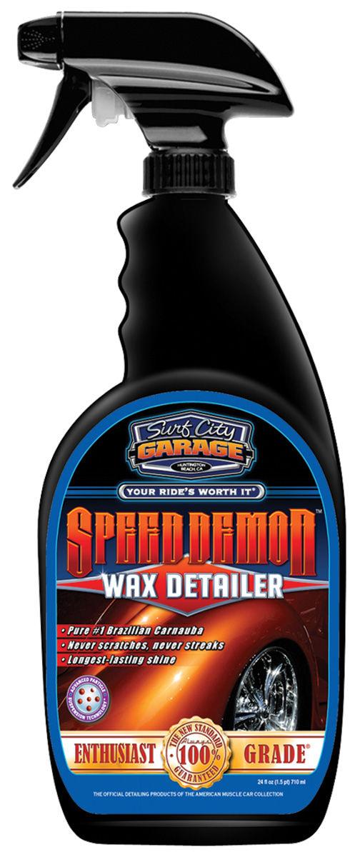 Detailer, Speed Demon, Surf City Garage, 24OZ