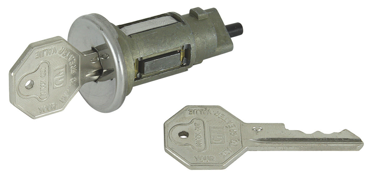 Lock Set, Ignition, 1968 GM, w/ Original Style Keys