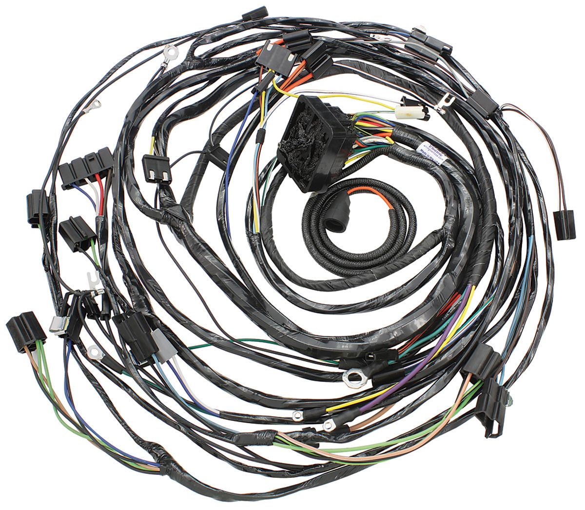 Wiring Harness, Engine, 1968 Cadillac, w/AC, Except Eldorado @ OPGI.comOriginal Parts Group