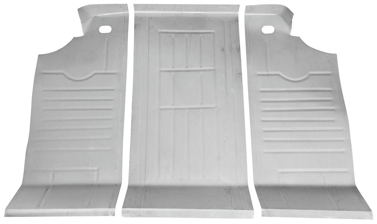 Floor Pan, Trunk, 1965-68 Bonneville Hard Top, 3pcs