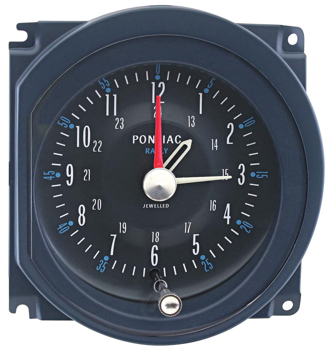 Clock, 1964-67 GTO/Grand Prix, In Dash