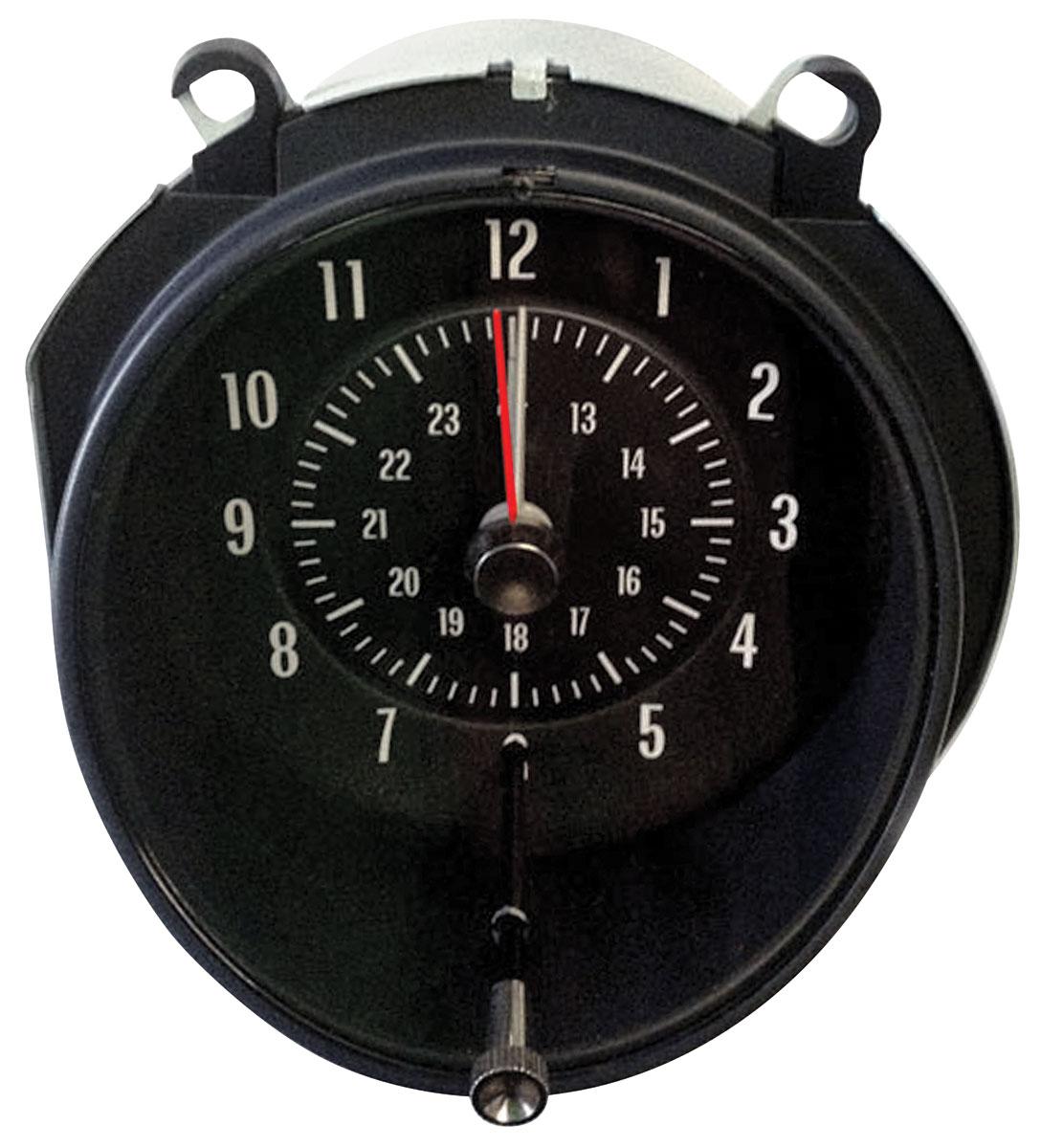 Clock, 1968 GTO/Grand Prix, In Dash