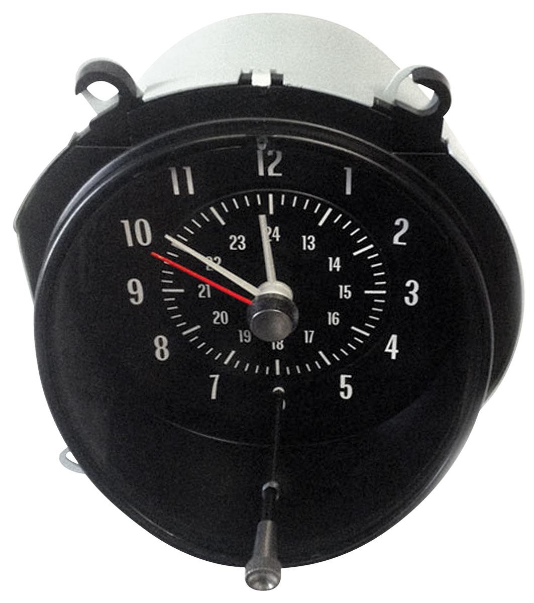 Clock, 1969-72 GTO/Grand Prix, In Dash