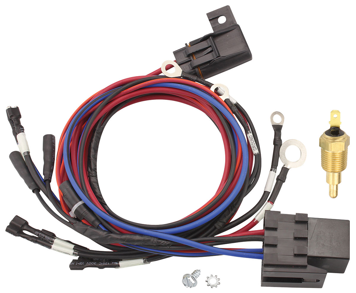Wiring Harness, Fan, Maradyne, w/ 185-Degree Sender