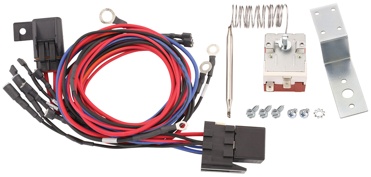 Wiring Harness, Fan, Maradyne, w/ 195-Degree Sender