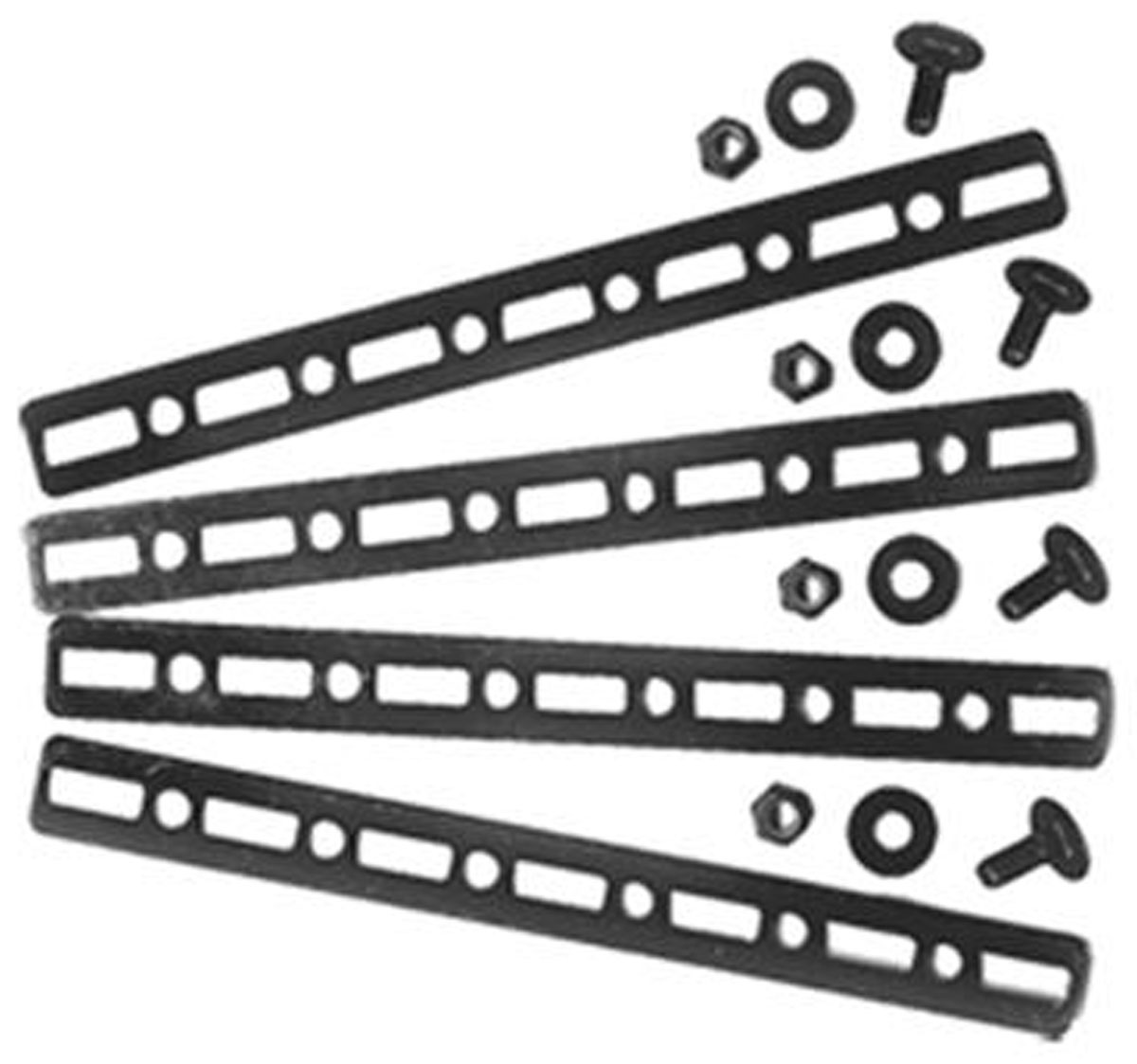 Bracket Strips, Metal, Maradyne