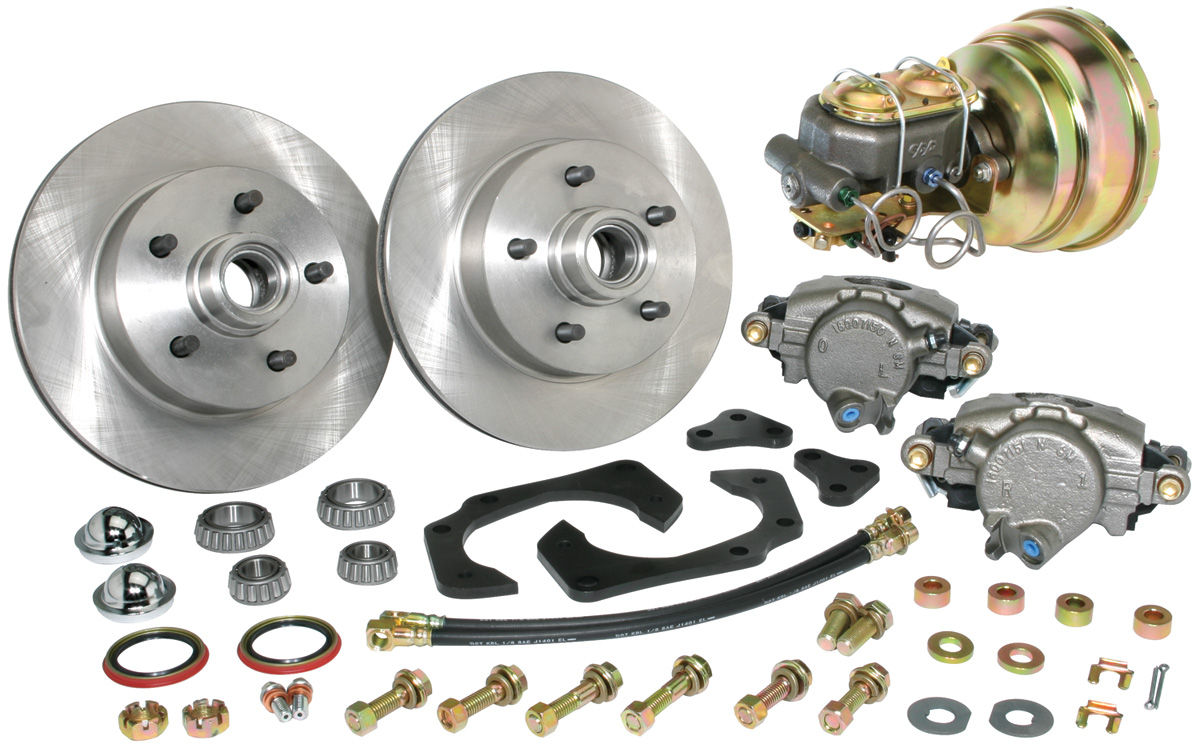 Disc Brake Conversion Kit, 61-68 Cadillac, Front