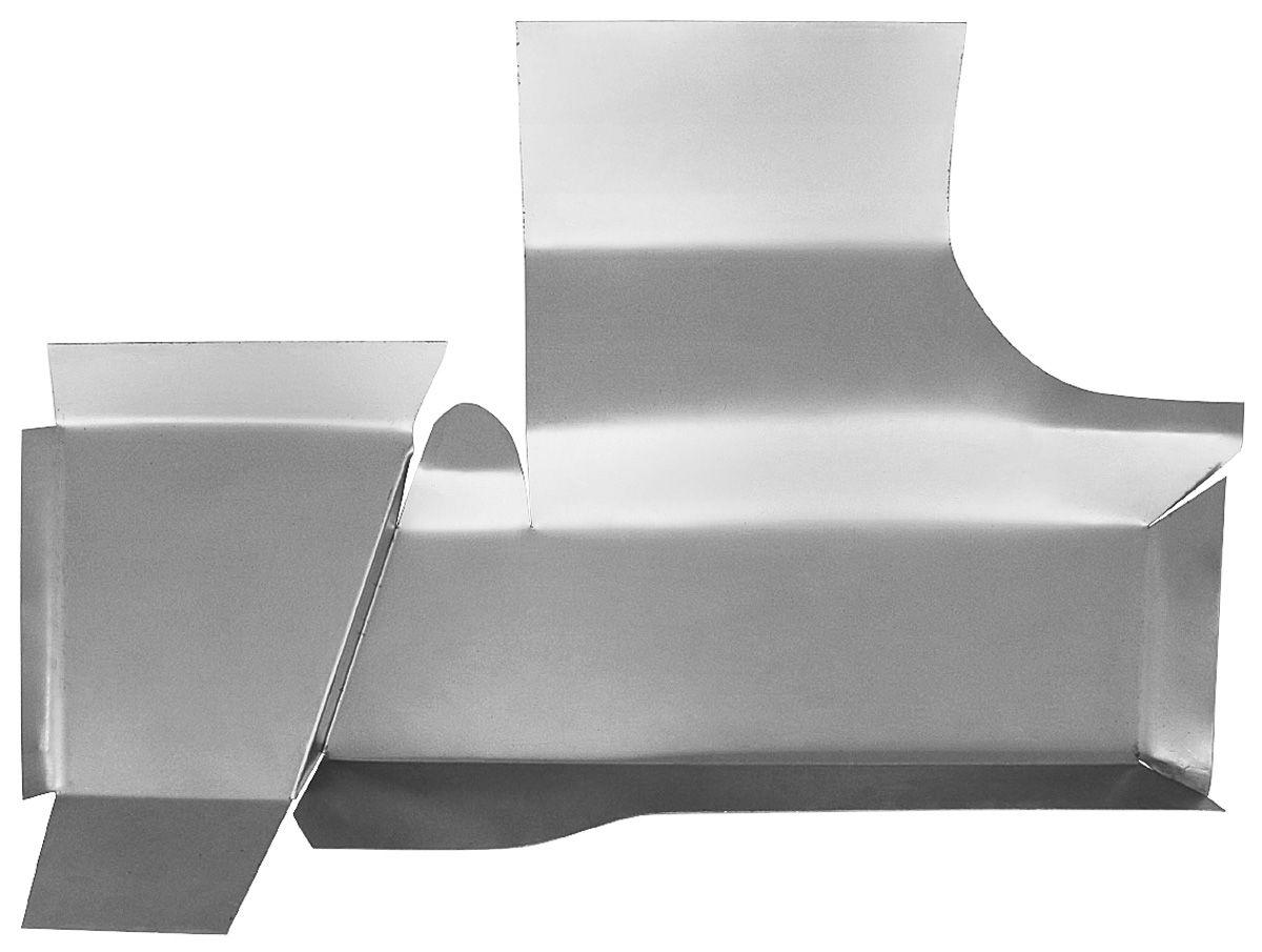 Floor Pan, Under Rear Seat, 1961-64 Cadillac