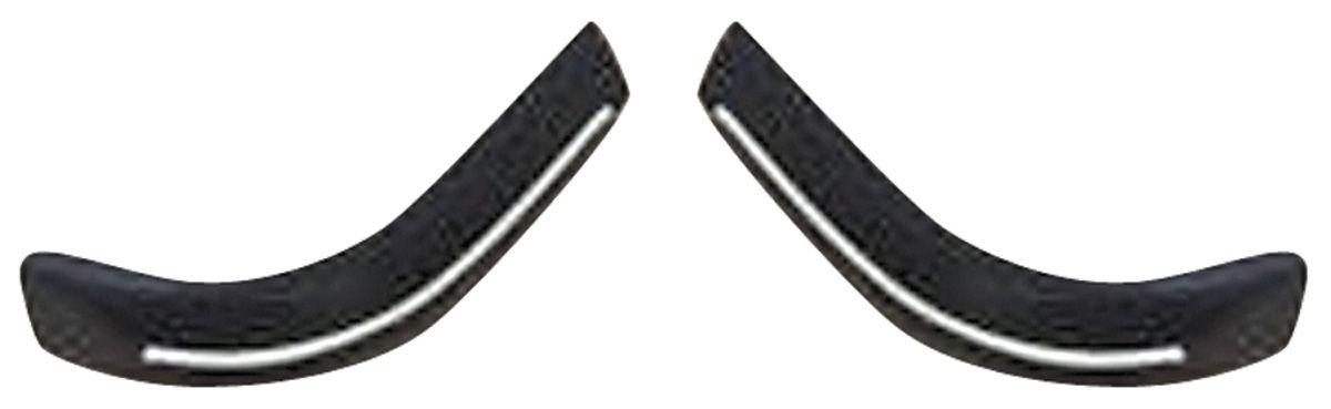 Bumper Impact Strips, Rear, 1973 Eldorado, Ends