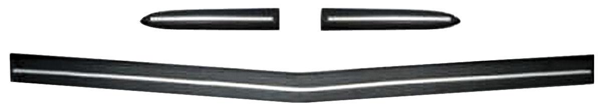 Bumper Impact Strips, Rear, 1974 Eldorado, Kit