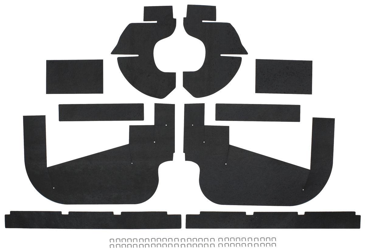 Seal, Inner Fenderwell A-Arm, 1959-60 Cadillac, 10 Pieces