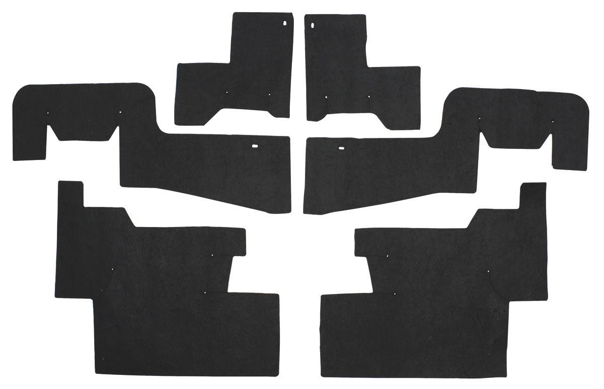 Seal, Inner Fenderwell A-Arm, 1954-56 Cadillac, 6 Pieces