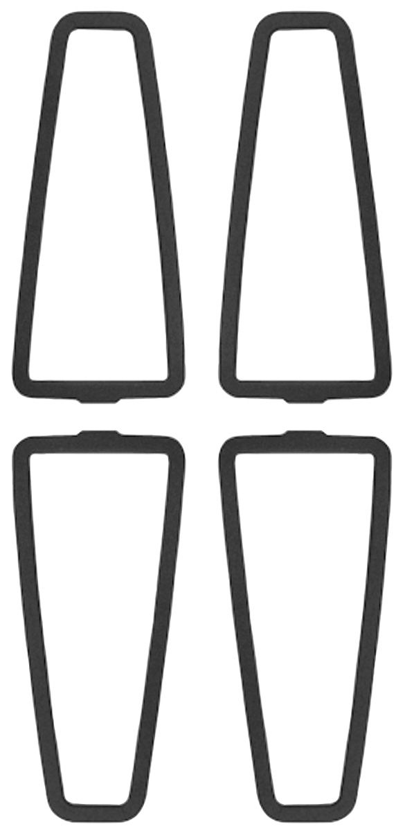 Gaskets, Tail Lens, 71-73 Cadillac, 71-72 All / 73 C.C.