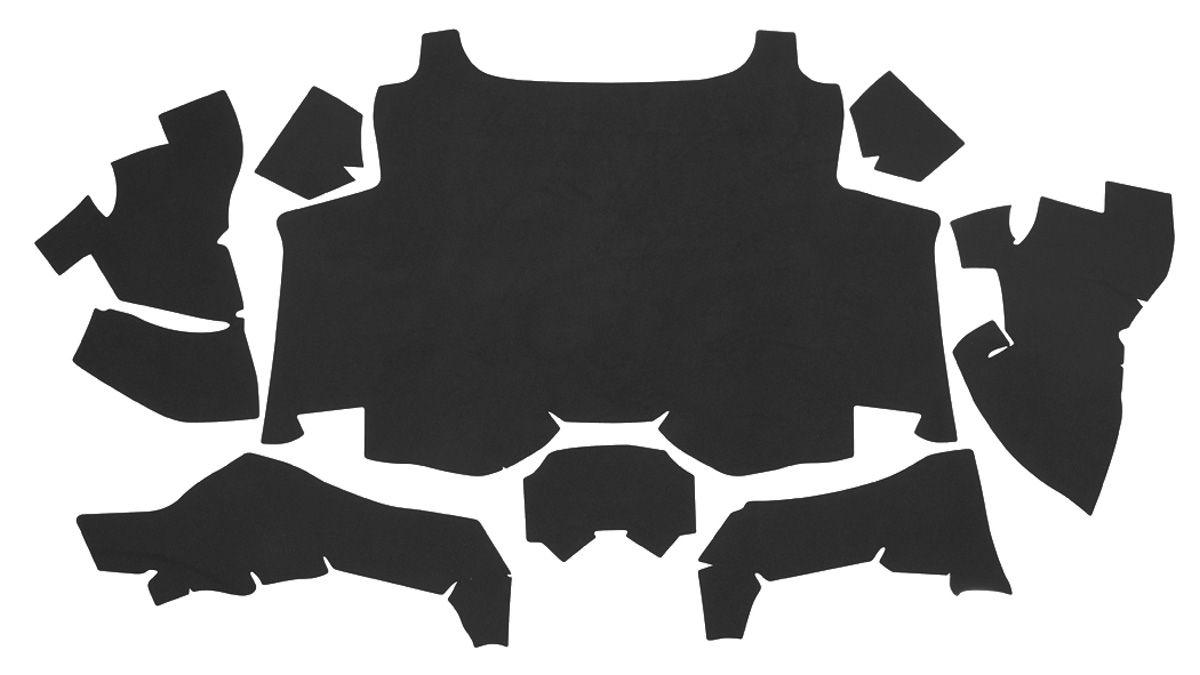Trunk Mat, Felt, 1969 Cadillac Eldorado, Black